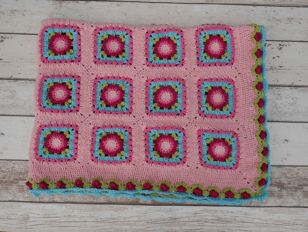 Lydia Blanket with amended border