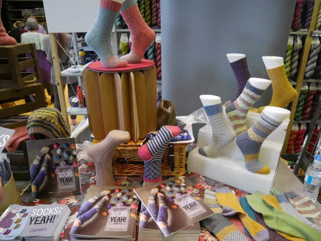 CoopKnits stand at Unravel 2017